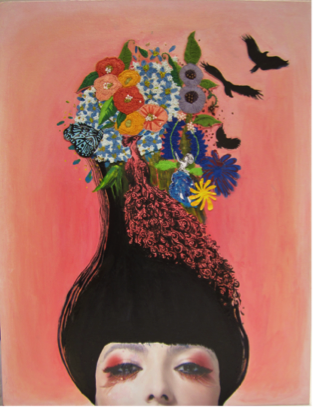 Dream Maker – Collage & painting by Tam Man (Class 2013)